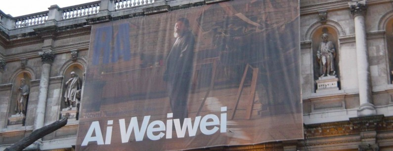 Ai Weiwei at the RA - the show Londoners are queuing for now