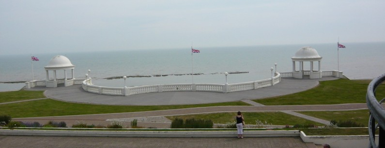Bridget Riley, Britain's foremost abstract artist, at Bexhill