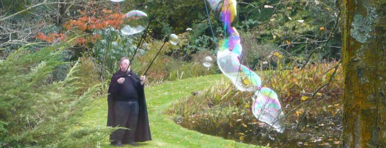 Air sculpture? A memorable 90th birthday for Mr Cass