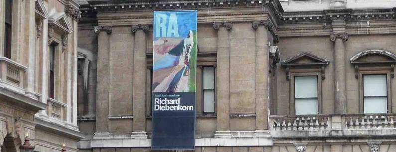 Richard Diebenkorn's work goes on show at the RA