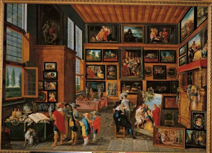 Cabinet Of Curiosities Painting